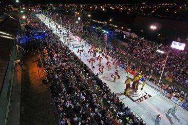 Concordia tuvo una de sus primeras mejores noches de carnaval