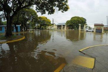 Se pronostican nuevas lluvias y se eleva otra vez el alerta para la creciente