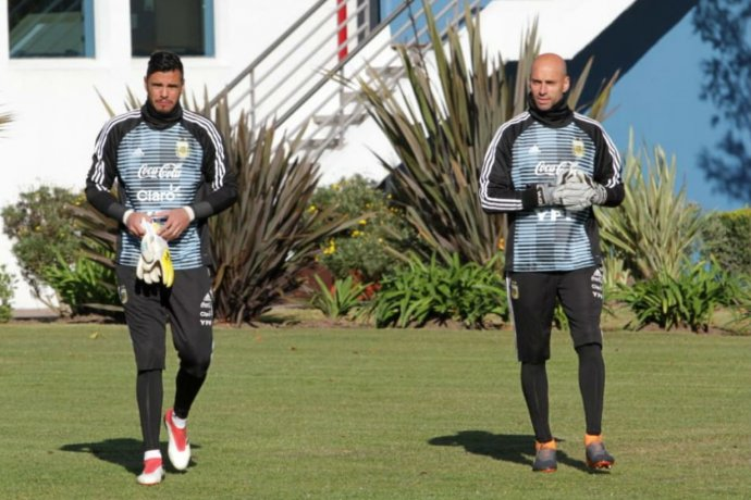Entre los 23, el entrerriano entrena junto a Messi en la selección