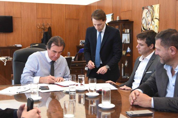 Pusieron la firma para que la Sala de Casación Penal tenga su edificio en Concordia