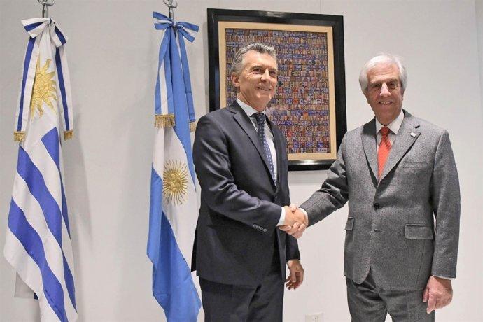 El río Uruguay entre los temas de interés del encuentro de Macri y Tabaré Vazquez