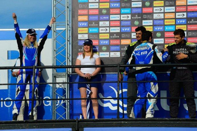 """""""El Coyote"""" logró la novena y Nadia Cutro remontó para alcanzar el podio"""