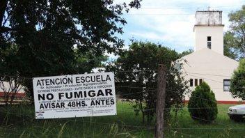 Elaboran protocolo de actuación ante fumigaciones cerca de escuelas rurales