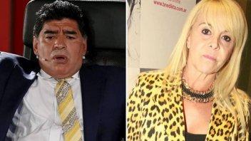 Escándalo con la serie de Maradona: Claudia Villafañe lleva la causa a juicio