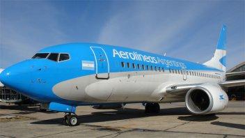 Aerolíneas Argentinas elimina la clase ejecutiva en vuelos de cabotaje