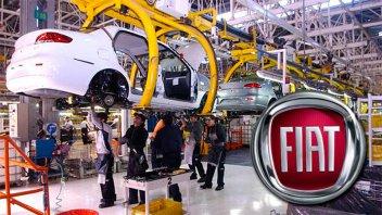 La automotriz Fiat suspende a 2.000 trabajadores en su planta de Córdoba