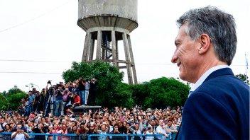Macri se bajó de acto por el Día de la bandera