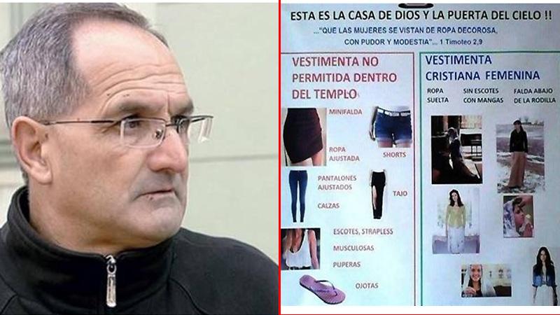 Minifalda Si o No  Cura dispuso lo que deben usar las mujeres en la Iglesia 926321556484