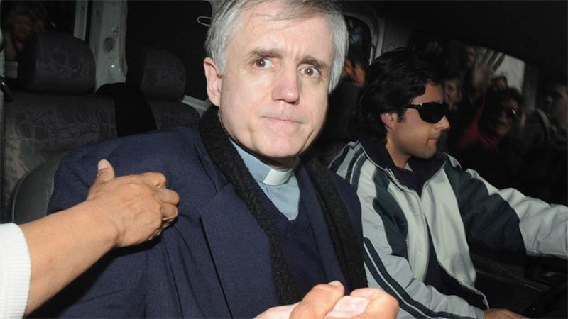 El primero. El cura Julio Grassi encabeza la lista tras su caso en 2002
