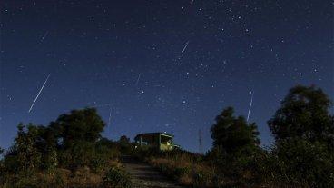 Desde esta noche se podrá ver la última lluvia de estrellas del año
