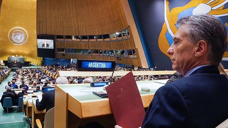 Asamblea de la ONU: Michetti encabezará delegación argentina