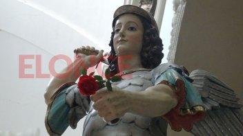 Se realiza la novena patronal de San Miguel: El viernes será feriado provincial
