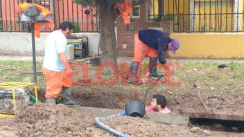 Corte de agua en la zona este de la ciudad por reparación de una distribuidora