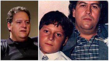 El hijo de Pablo Escobar se quejó de que sufre