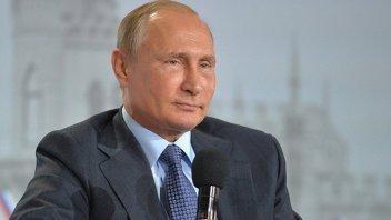 Putin presentó su solicitud de registro para ser reelegido presidente de Rusia