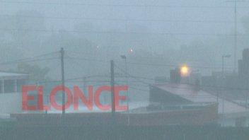 Alerta por tormentas: Los fenómenos más intensos se esperan para esta tarde