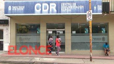 Hasta las 17 estará abierto el Registro Civil para retirar DNI