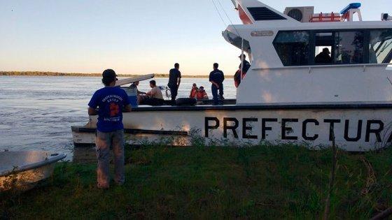 Hallaron el cuerpo sin vida del hombre que era buscado en las aguas del Paraná