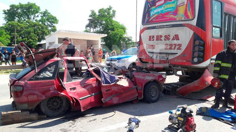 Fatal accidente en acceso a San Benito registrado en enero de 2017