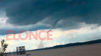 Ratifican alerta sobre posibles tornados para este miércoles en Entre Ríos