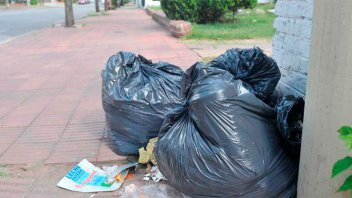 El Municipio advierte que la venta de bolsas de residuos no está autorizada