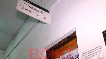 Tres motociclistas están internados en grave estado en el hospital San Martín
