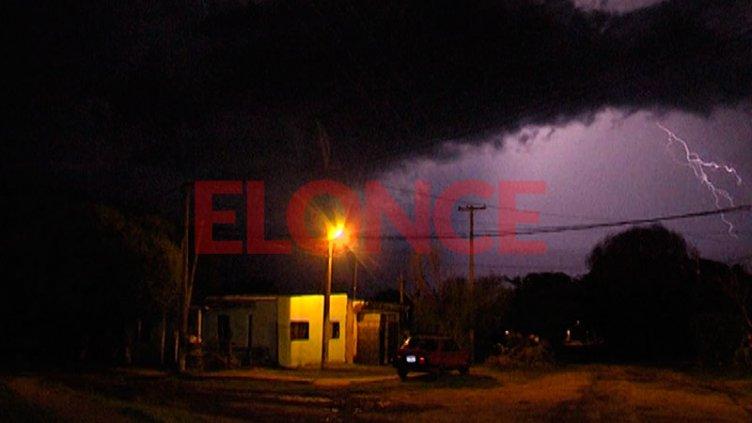 Tras la tormenta de anoche, rige alerta para una zona de Entre Ríos