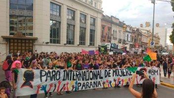 Convocan a sumarse al paro internacional de mujeres del próximo 8 de marzo