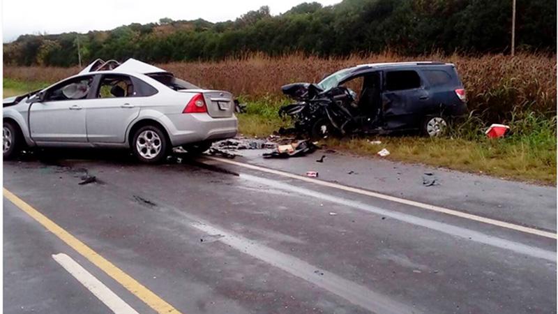 Cuatro muertos por un choque sobre Ruta 26, en cercanías a Antelo