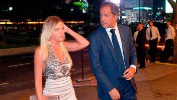 Nació Francesca, la hija de Daniel Scioli y la modelo Gisela Berger
