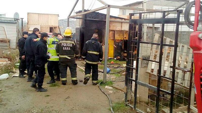 Investigan si el incendio fue para ocultar el abuso. (Diario del Fin del Mundo).