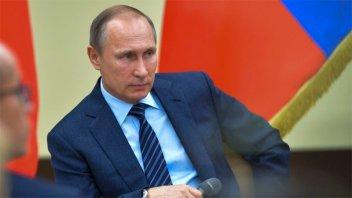 Putin regaló entradas a dos argentinos que