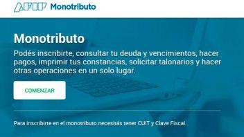 Afip cruzará datos de facturación y consumos con tarjeta de monotributistas