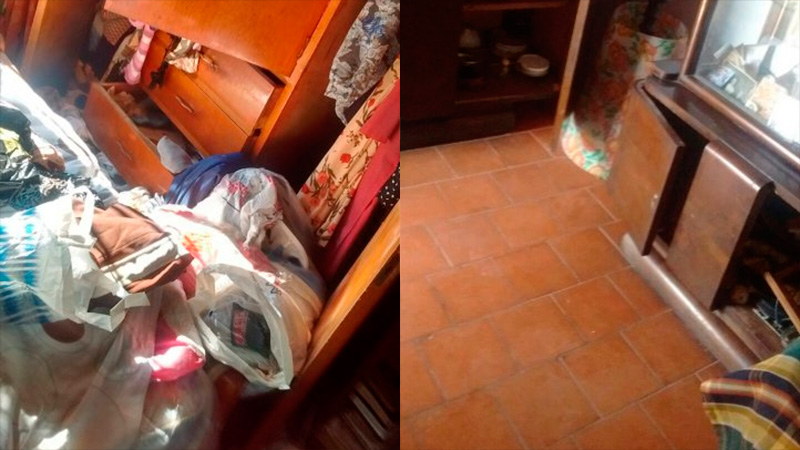 Robaron en la casa de una abuela de 100 años