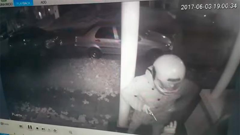 El hombre baleó al delincuente que lo asaltó (Foto: Captura de video)