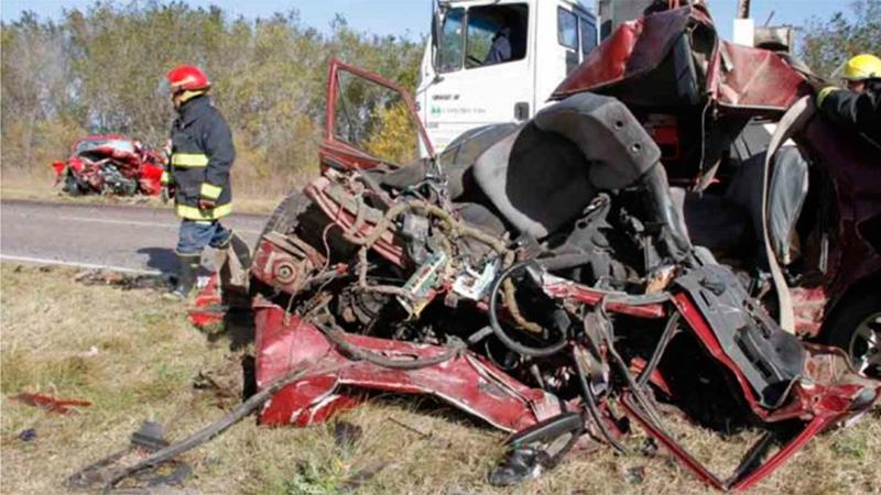 Tres muertos en La Pampa.