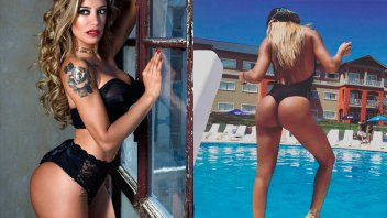 Claudia Ciardone le pone calor al invierno con un video muy sensual