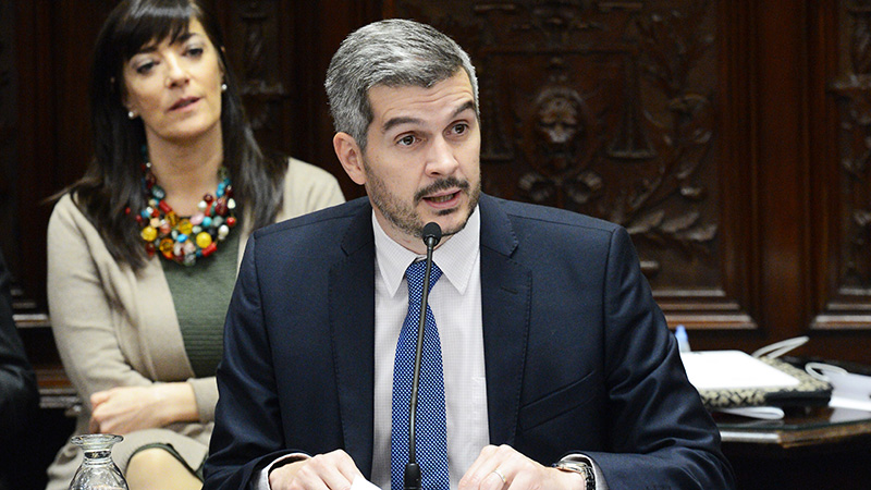 Ante el Senado, Peña insistió en mantener