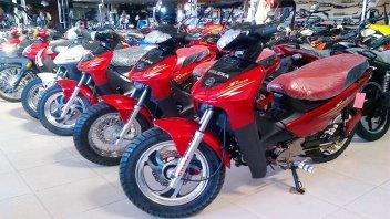 Venta de motos se desplomó 54,7% en marzo y acumula una baja del 47%