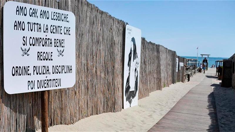 El acceso a la playa, con algunas recomendaciones para las minorías.