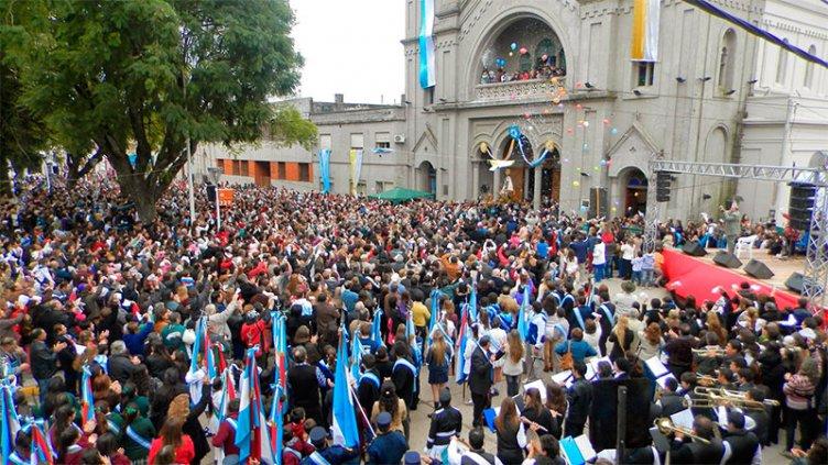 Festejos patronales en Nogoyá: Así celebran con honores a la Virgen del Carmen