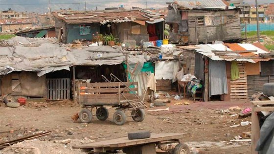 El año termina con 13,5 millones de pobres en el país