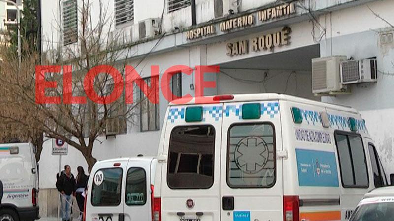 El niño fue asistido en el Hospital San Roque