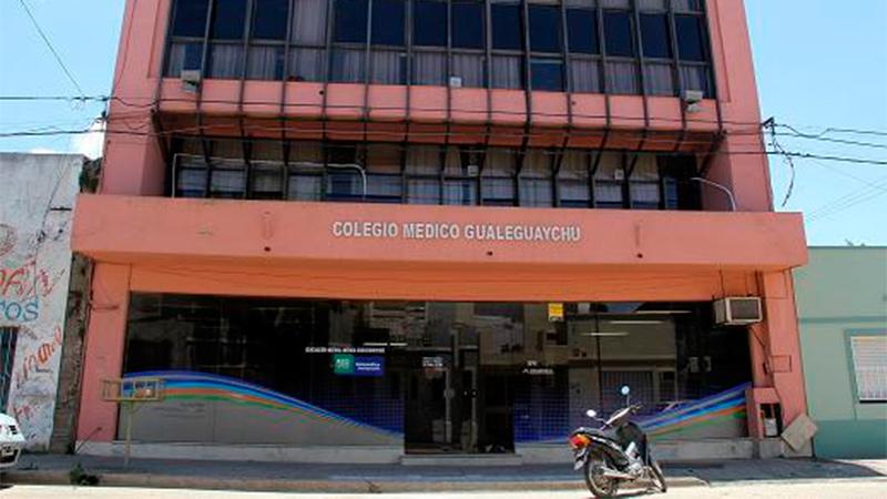 Colegio Médico de Gualeguaychú.