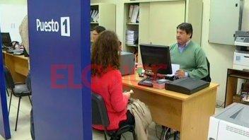 El Registro Civil de Paraná tendrá un solo día de atención normal esta semana