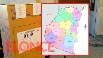 Legislativas en Entre Ríos: Resultados departamento por departamento