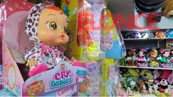 Se registró una leve suba en la venta de juguetes por Reyes Magos