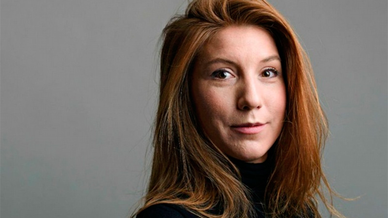La periodista Kim Wall, desparecida tras subir a un submarino.