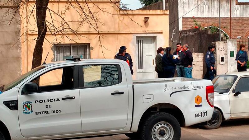 Amalia Díaz fue hallada muerta el 23 de agosto, en su casa