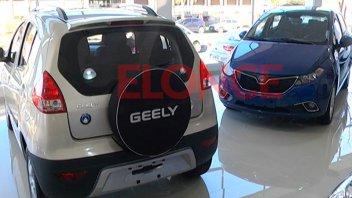 La marca automotriz Geely desembarca este sábado en Paraná: Habrá test drive